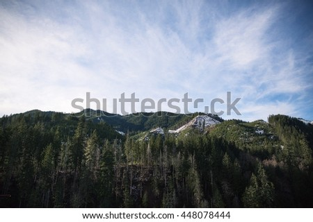 The great Pacific Northwest  - stock photo