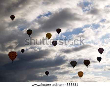 The Great Reno Balloon Race - Reno, NV - stock photo