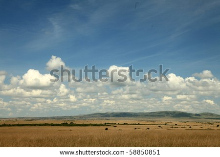 The Great Rift Valley in Kenya, Africa