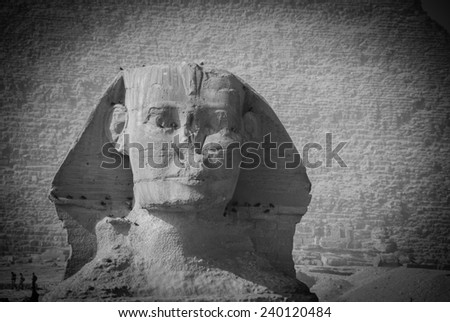 The Great Sphinx of Giza  - stock photo