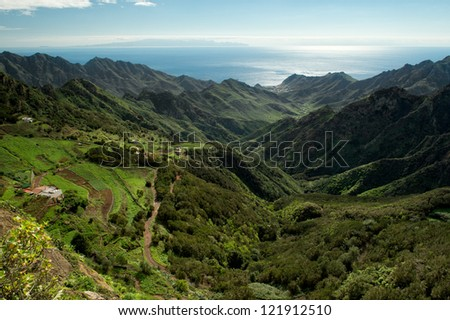The green mountains of Anaga