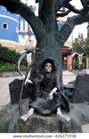 The Grim reaper - stock photo