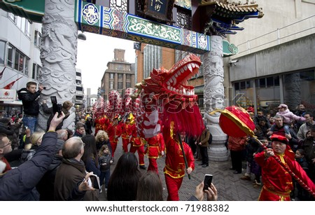 the hague holland february 5 celebration of chinese newyear in the hague - Chinese New Year 1988