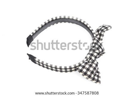 the hair clip, headban - stock photo
