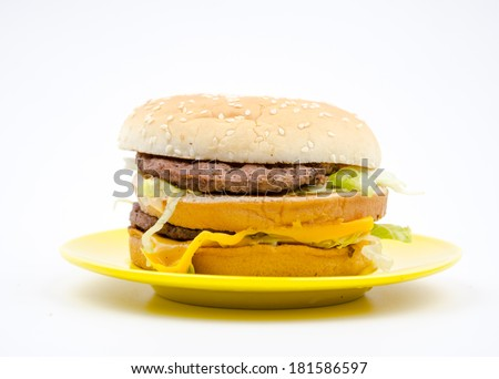 The hamburger