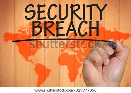 The hand writing security breach