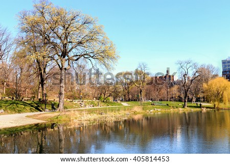 The Harlem Meer Spring - Central Park, New York City