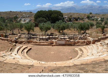 The Hellenistic Amphitheater at Ancient Aptera
