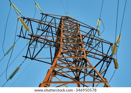 The high-voltage substation equipment outdated