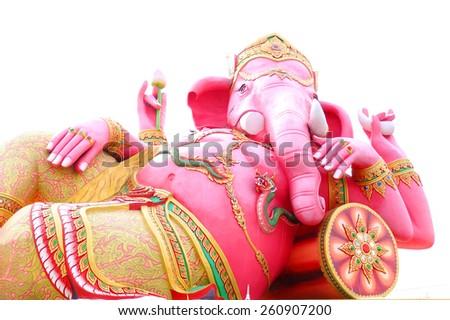 The Hindu God Ganesh - stock photo