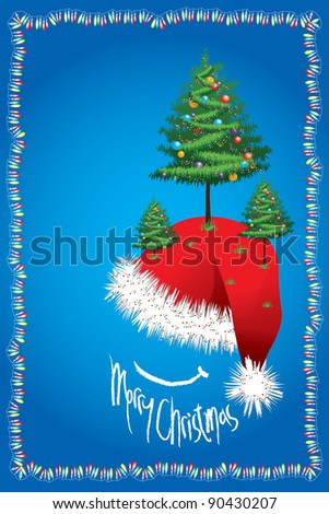 The history of Christmas dates back over 4000 years as the various custom and tradition associated with the festival of Christmas were celebrated centuries before the birth of Christ. - stock photo