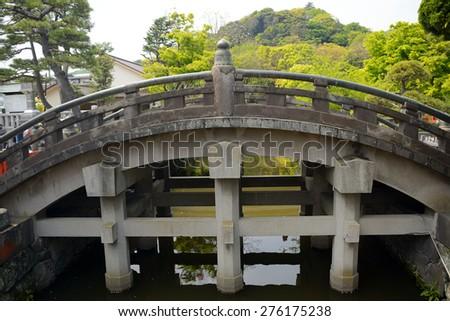 The Holy Bridge, Kamakura, Japan - stock photo