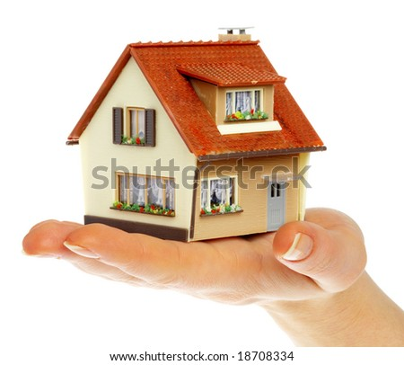 The house in human hands...