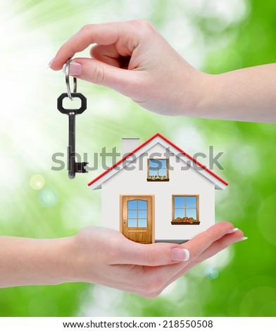 The house with key in hands