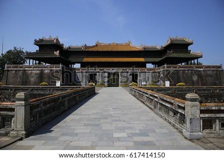 The Hue Citadel, Vietnam.
