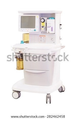 The image of a dental anesthesiology machine  - stock photo
