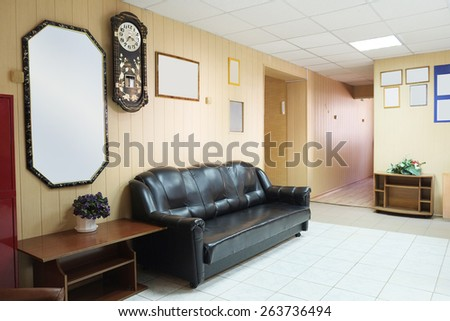 The image of a foyer - stock photo
