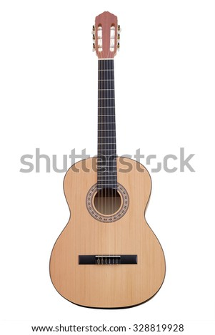 The image of a guitar - stock photo