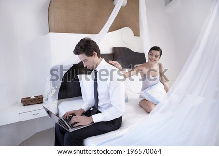 the image of businessman in room,Boracay in Philippine