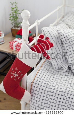 the image of Christmas stocking