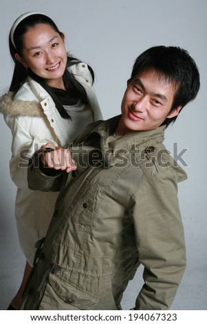 The image of couples in Korea, Asia