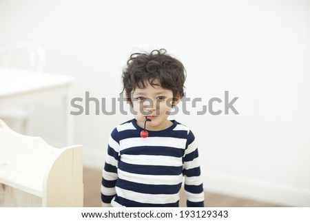 the image of cute Asian kid