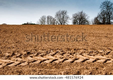 The image of farmland.
