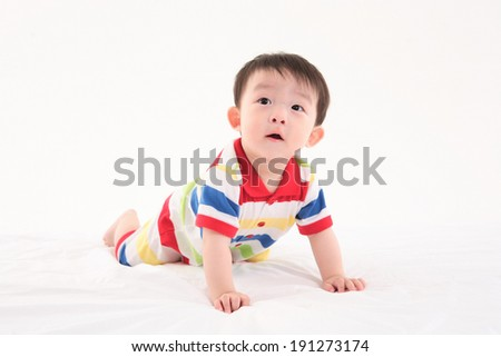 The image of infant in Korea, Asia