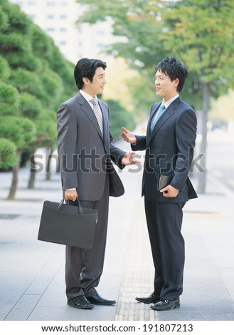 The image of Korean business men