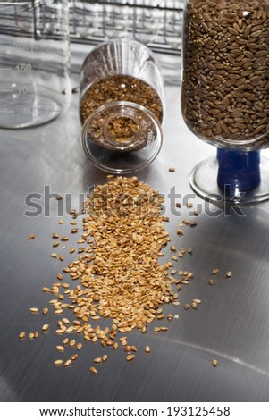 the image of science and grains
