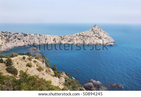 The image of the Crimean seascape