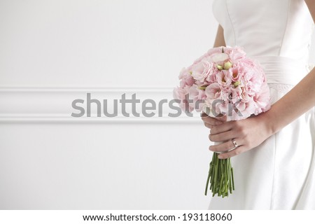 the image of wedding Bouquet - stock photo