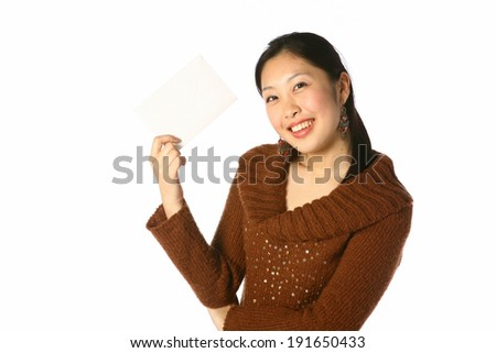 The image of woman in Korea, Asia