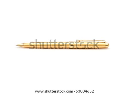 The image of yellow pen