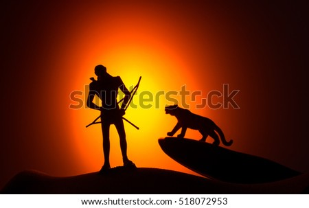 The Indians In light of the Silhouette