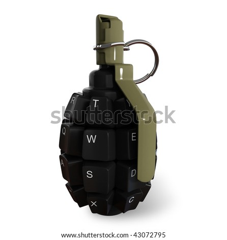 The Information Bomb - stock photo