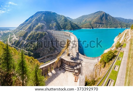 The Inguri Dam is a hydroelectric dam on the Inguri River in Georgia