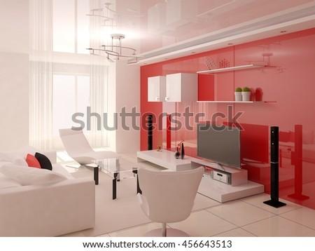 Innovative Design Living Room Functional Furnishings Stock ...