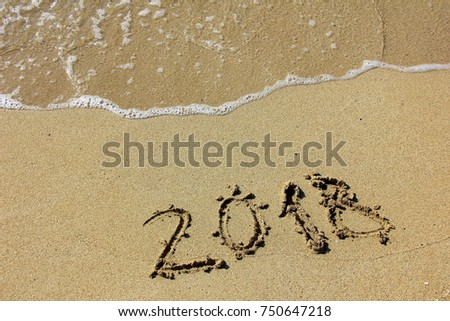 the inscription on the sand 2018
