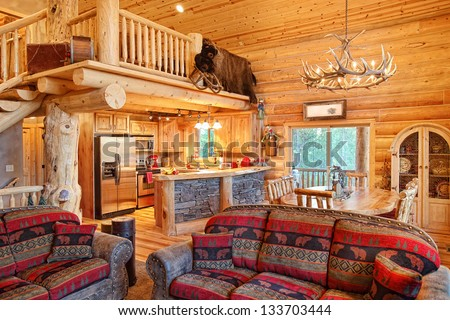Search on american country interior design