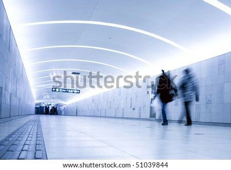 The interior of the building in beijing china - stock photo