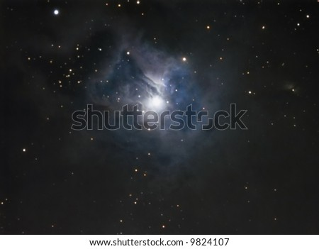 The iris Nebula - stock photo