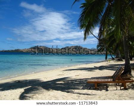 The island, Fiji - stock photo