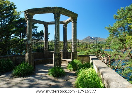 The island of gardens, Ireland - stock photo