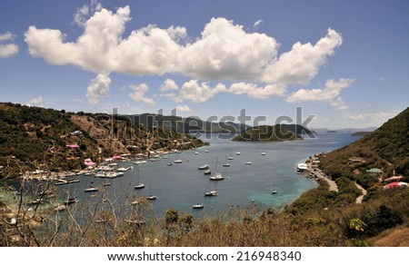 The Island of Tortola / Clouds over Tortola