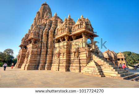 structure and meaning of khajuraho temples Furthermore, these sculptures are always on the outer walls of temples meaning that the humans need to leave their desires outside before stepping in in many the most famous of the lot, khajuraho temples are located in madhya pradesh in the small town of khajuraho which they are named after.