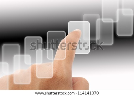 The key to a successful business on white and black background. - stock photo