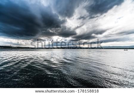 The lake 4 - stock photo