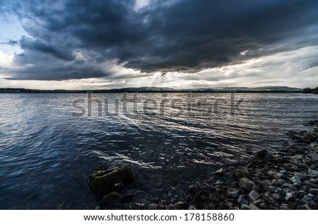 The lake 3 - stock photo