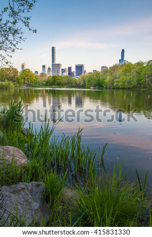 The Lake - Central Park - NYC